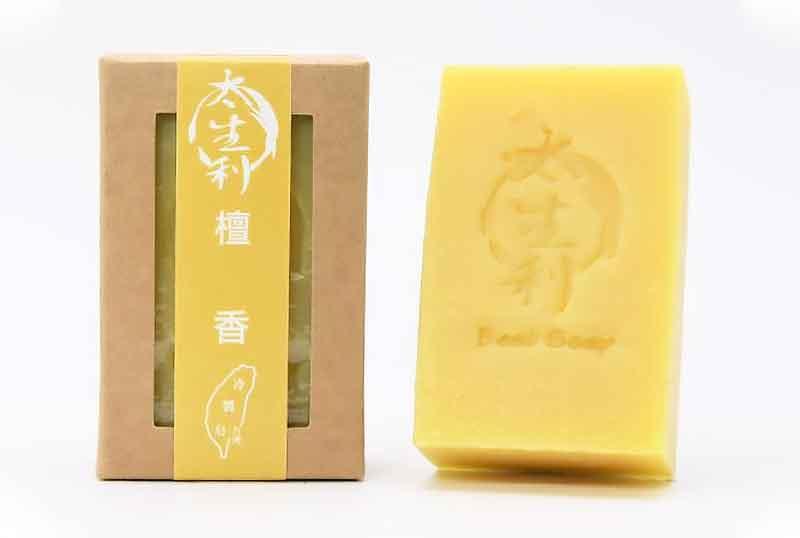【太生利】檀香皂-台灣冷製手工皂