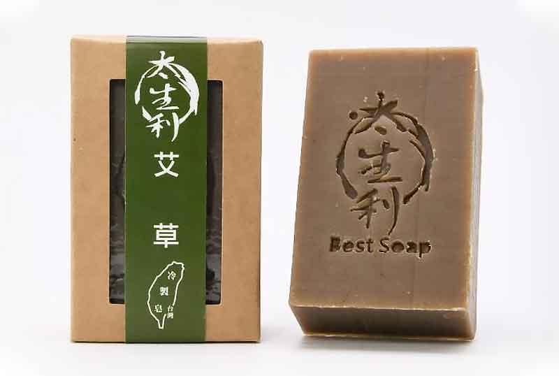 【太生利】艾草皂-台灣冷製手工皂