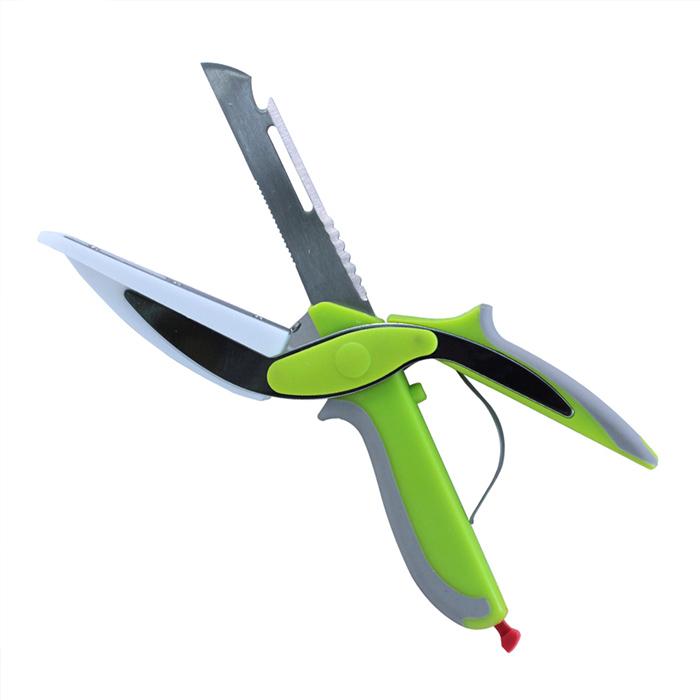 6合一廚房料理砧板剪刀