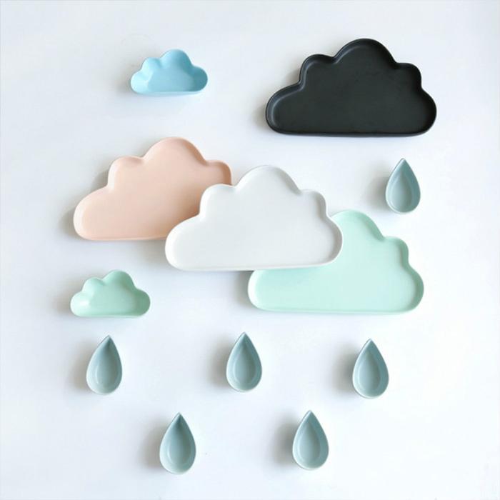北歐質感雲朵系列啞光餐盤