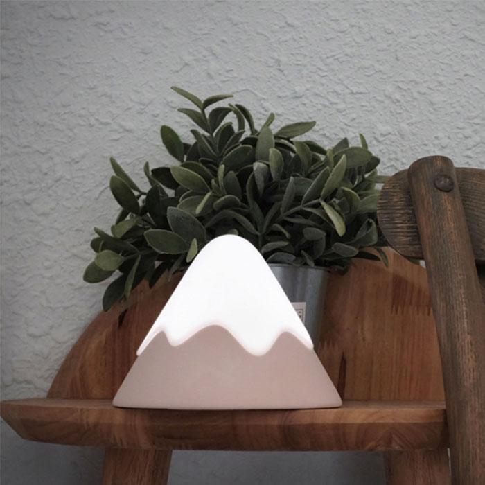療癒富士山感應燈