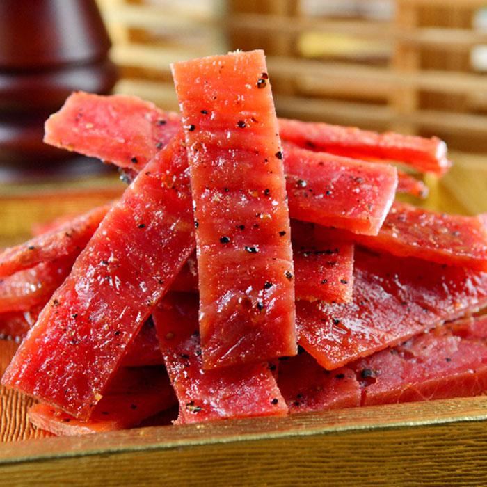 傳統蜜汁黑胡椒豬肉乾