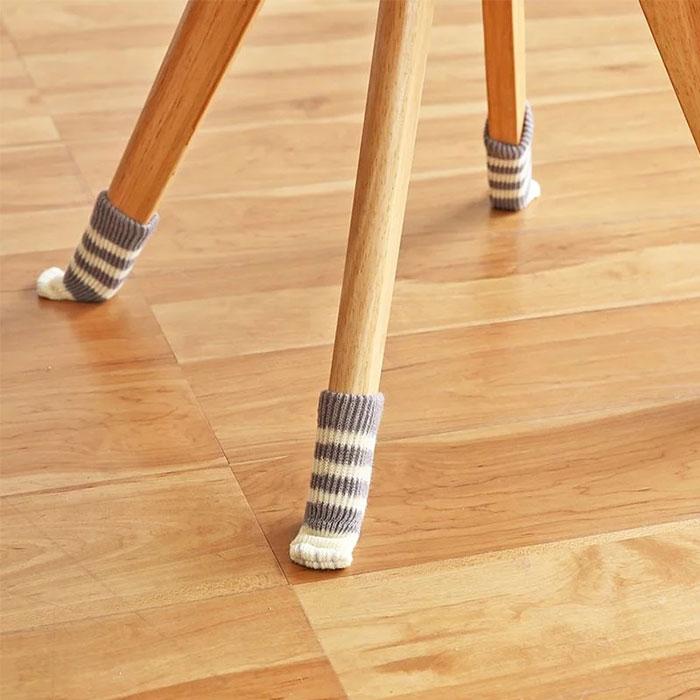 貓腳粉紅肉球椅子腳墊