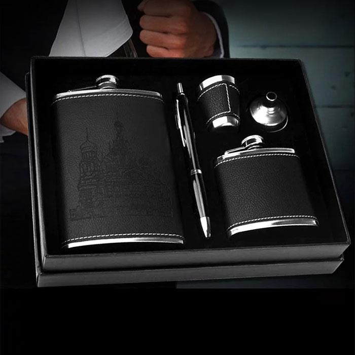 不鏽鋼小酒壺禮盒