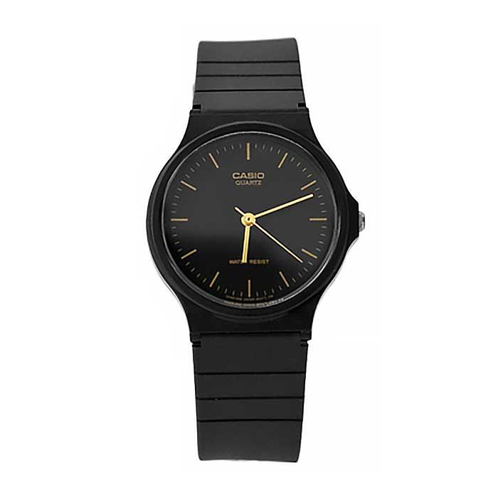 CASIO卡西歐經典金色刻度腕錶