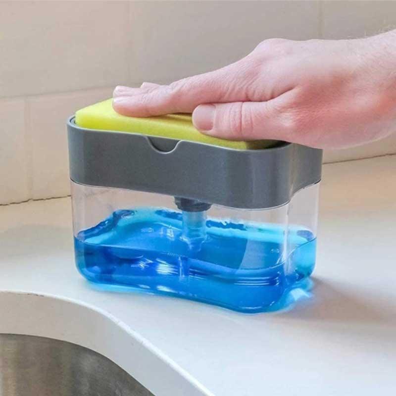母親節禮物推薦 肥皂泵分配器和海綿支架