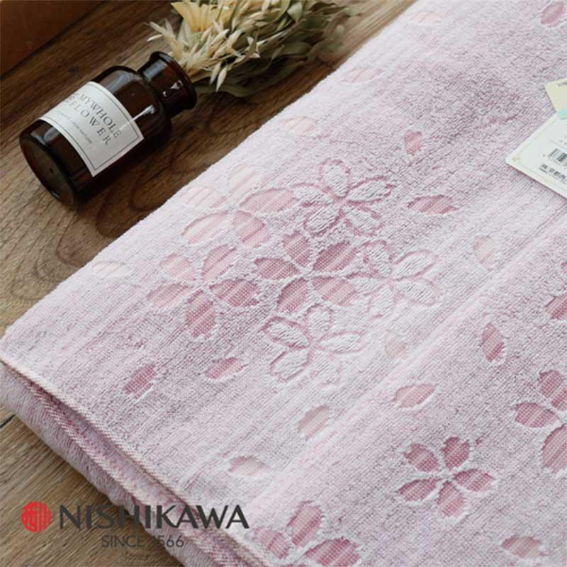 母親節禮物推薦 京都西川 / 日本無撚毛巾夏毯 / 毛巾蓋毯