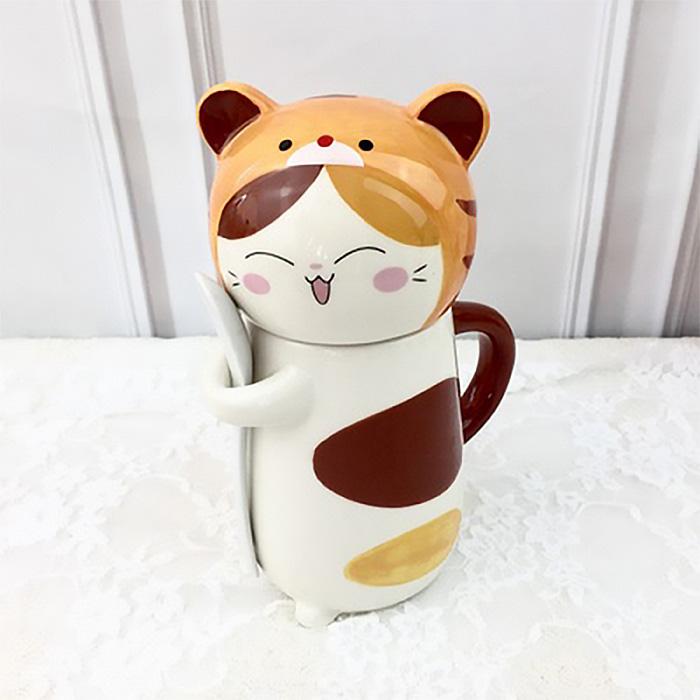 【十二生肖貓咪湊一團】陶瓷杯