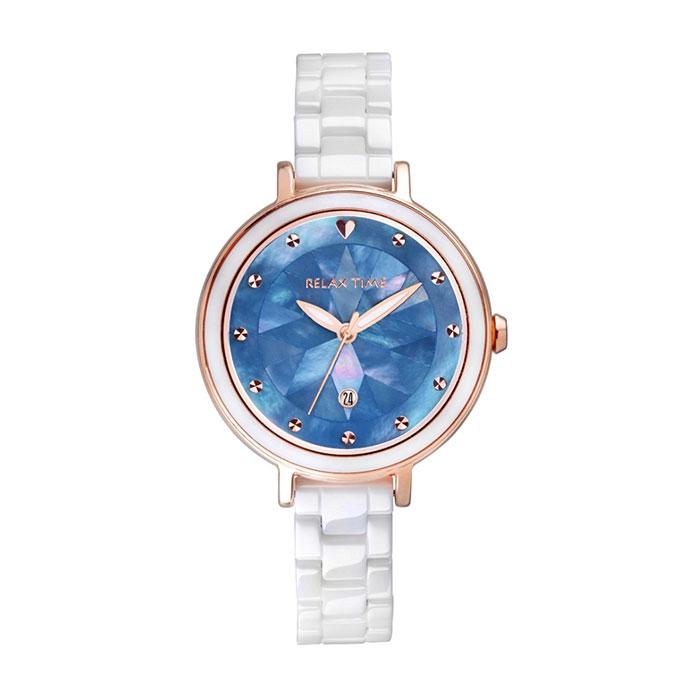 RELAX TIME 極光系列Aurora-半陶瓷腕錶