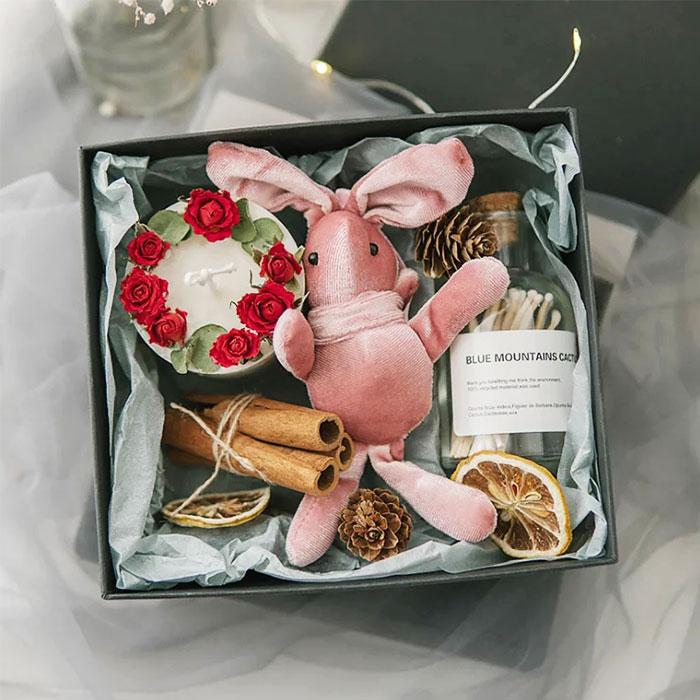 小兔香氛蠟燭禮盒