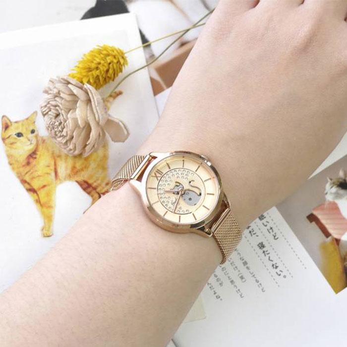 喵小姐的時尚金屬錶