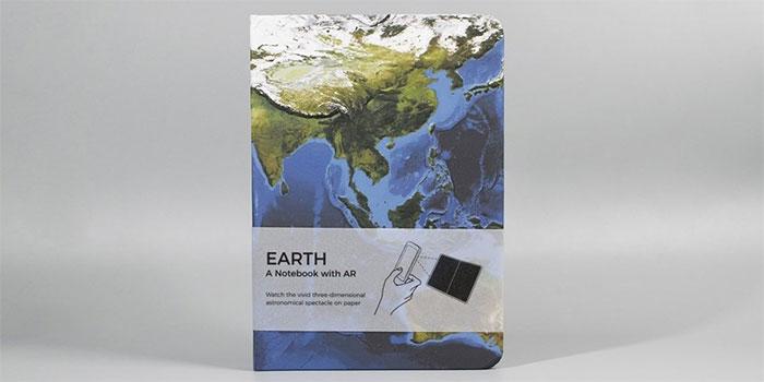美國 Astroreality《AR地球筆記本》