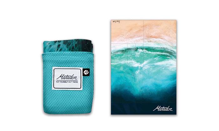 Matador《口袋型野餐墊》海洋版