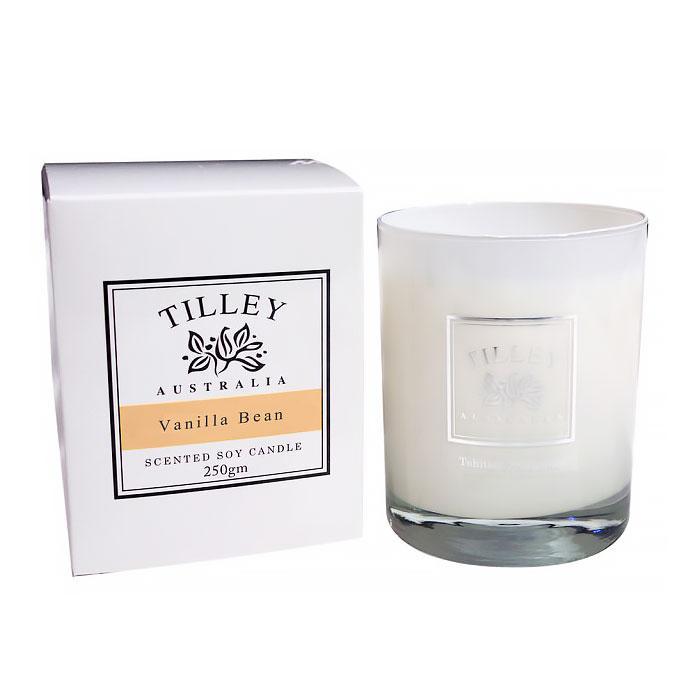 【Tilley百年特莉】香草香氛大豆蠟燭
