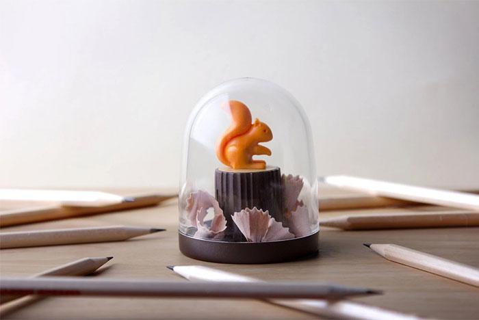松鼠愛森林-削鉛筆器