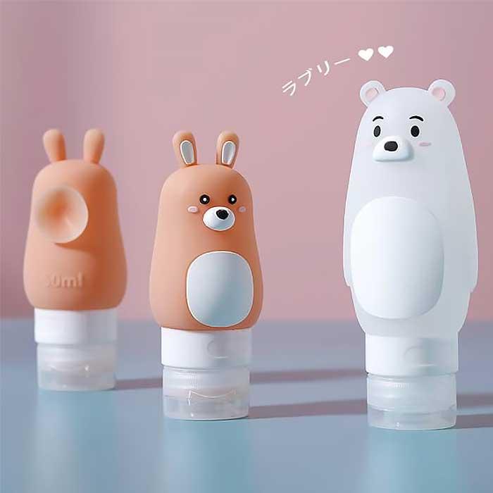 【日系】旅の友小動物旅行分裝瓶