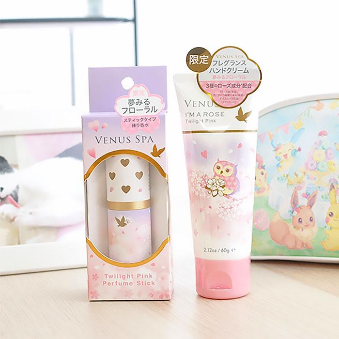 日本進口【飄香的秘密】香水棒+護手乳
