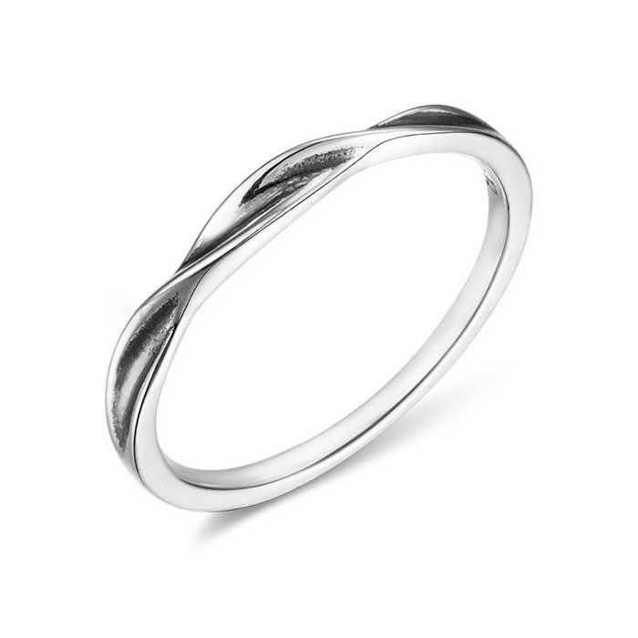 925純銀戒指 纏繞愛情