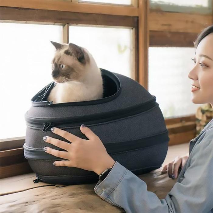 【貓仔輕鬆躺在Eggy裡】Eggy小宅包