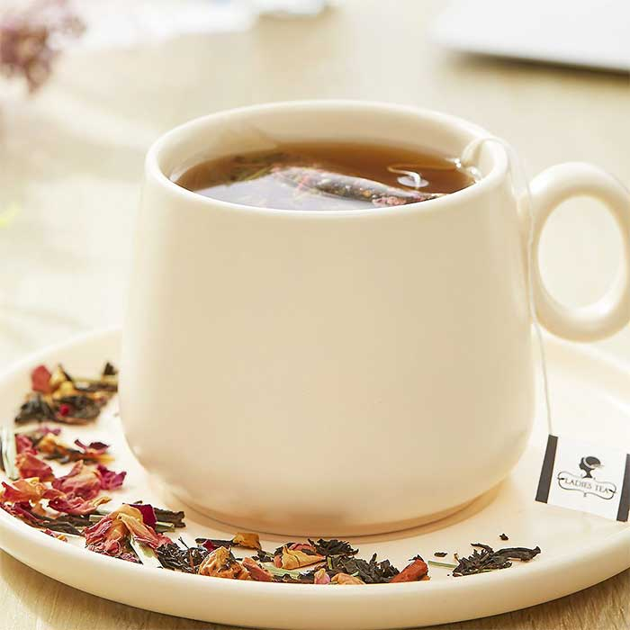 檸檬草玫瑰紅茶