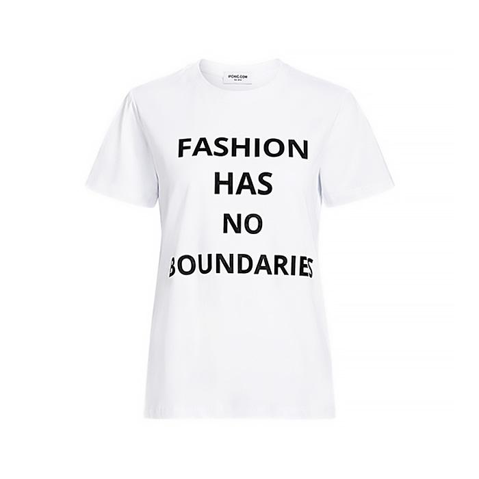 Fashion Has No Boundaries 標語T恤