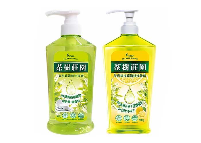 茶樹莊園~茶樹/茶樹檸檬 超濃縮洗碗精