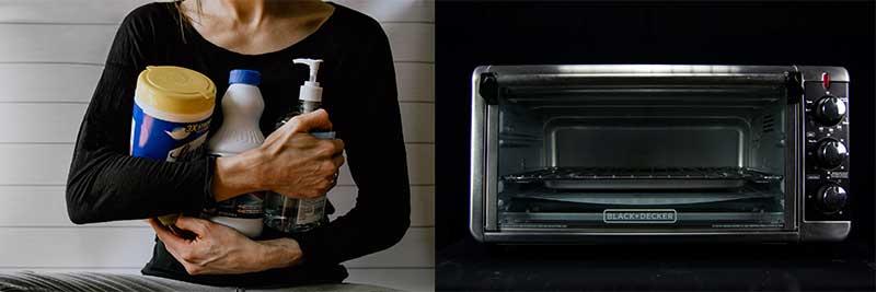 如何清潔水波爐?
