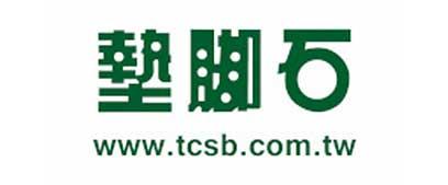 墊腳石logo