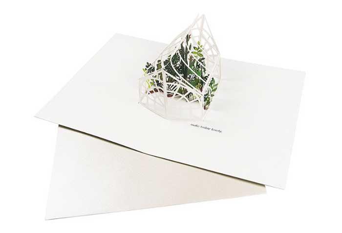 溫室栽植【Up With Paper Luxe-立體卡片】