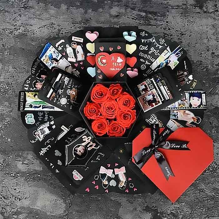 給你我的心~爆炸禮物盒