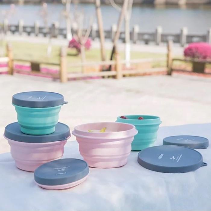 環保摺疊便利碗