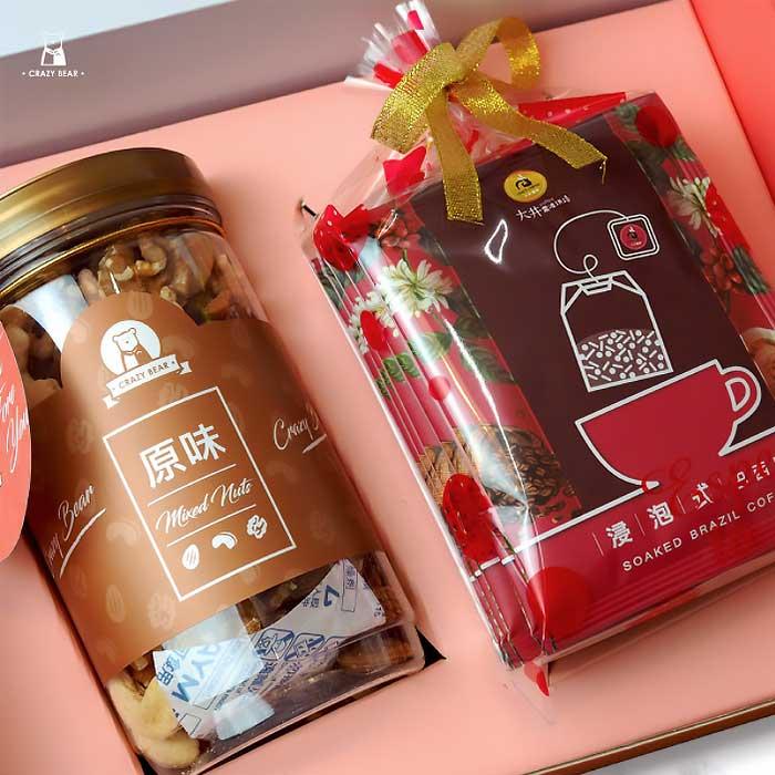 男友情人節禮物 堅果咖啡禮盒