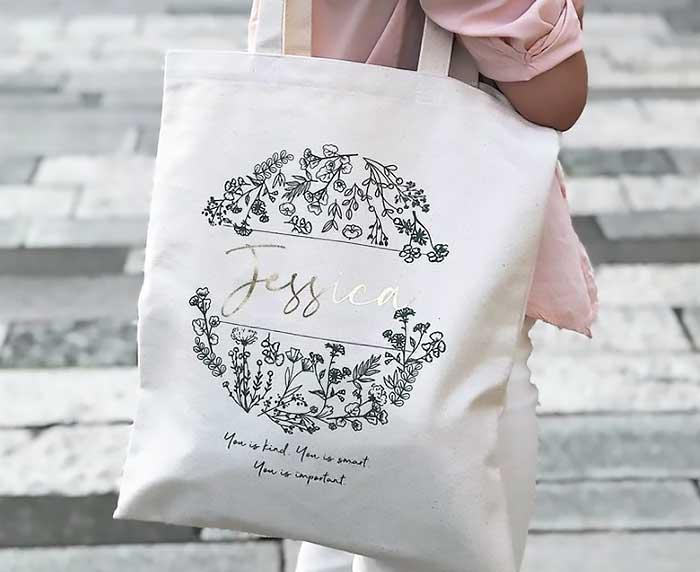 女友情人節禮物 客製化帆布袋