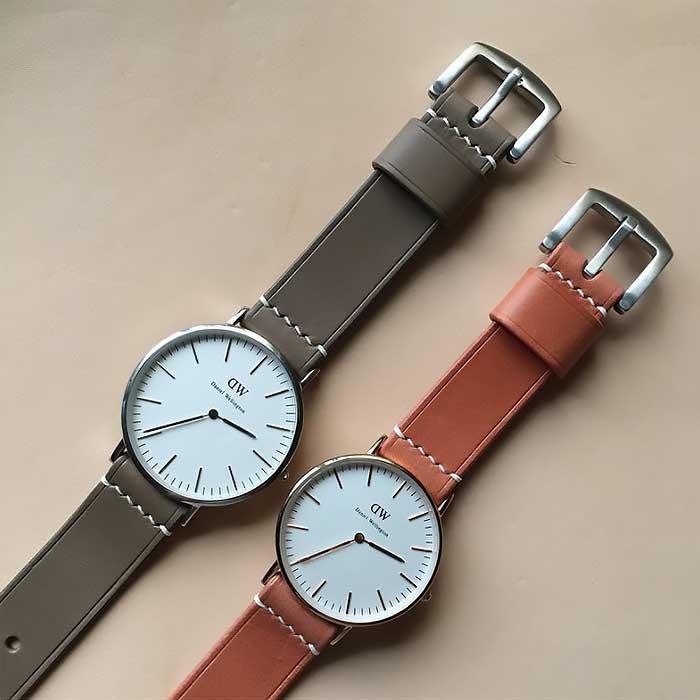 女友情人節禮物 簡約情侶錶