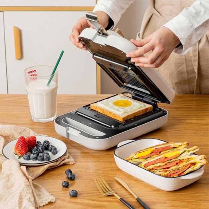 三合一多士爐吐司家用烤面包機