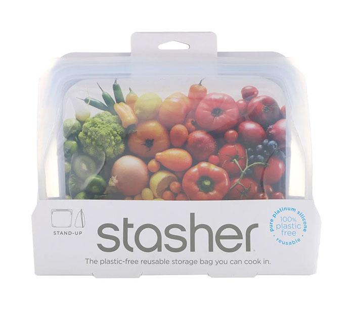極簡禮物 Stasher 立式矽膠可重複使用食品儲存袋