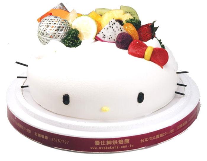生日蛋糕宅配 優仕紳Kitty蛋糕