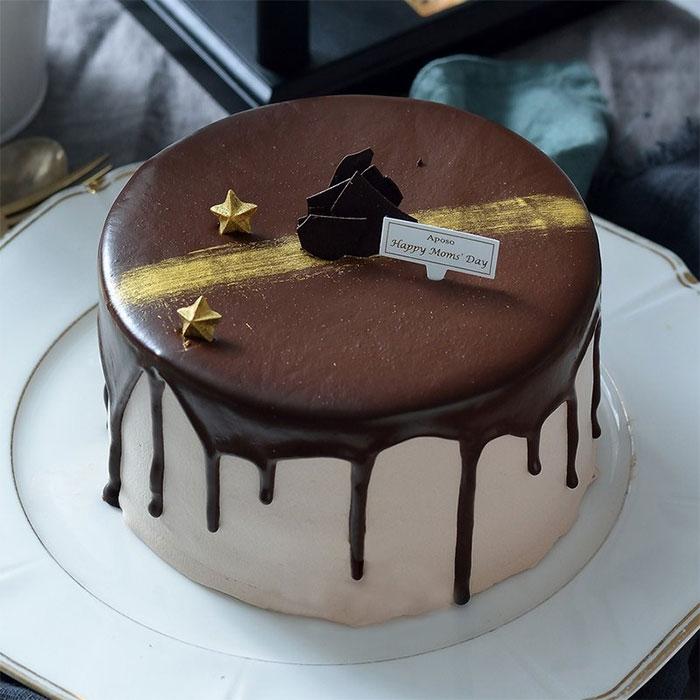 生日蛋糕宅配 比利時極光巧克力