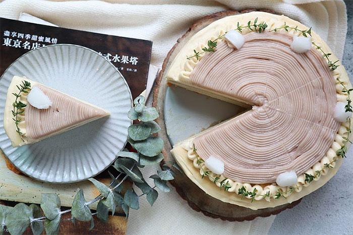 生日蛋糕宅配 搭波芋泥波波千層