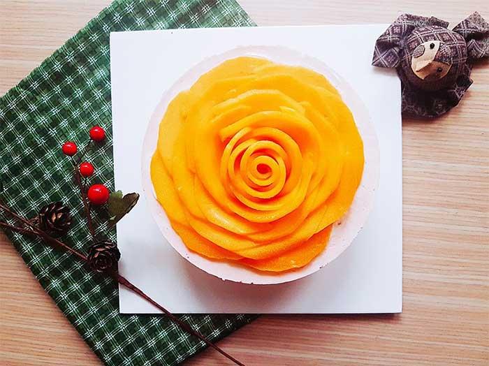 生日蛋糕宅配 水果玫瑰乳酪蛋糕