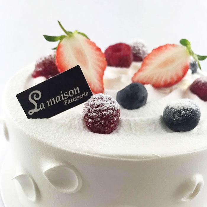 鮮奶莓果蛋糕