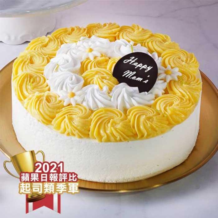 生日蛋糕宅配 法式檸香生乳酪