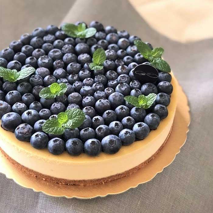 生日蛋糕宅配 藍莓重乳酪